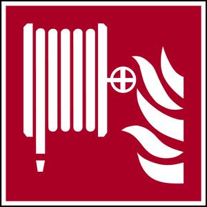 Schild Löschschlauch